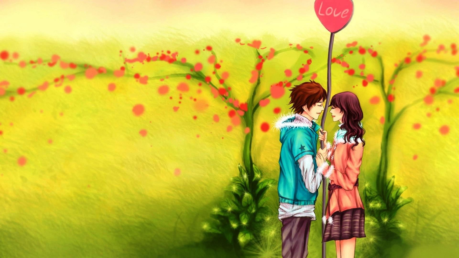 Romantic Couple Hd Wallpaper Free Download 1920 X Lovers Hd