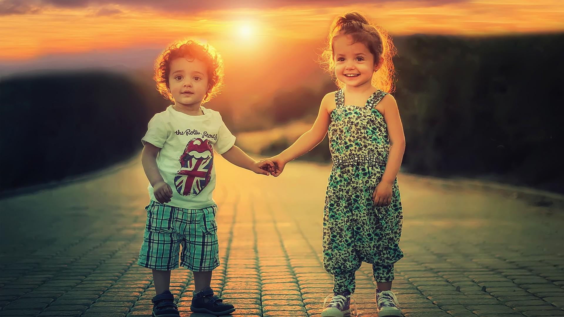 Hd Love Cute Baby Couple 413121 Hd Wallpaper Backgrounds