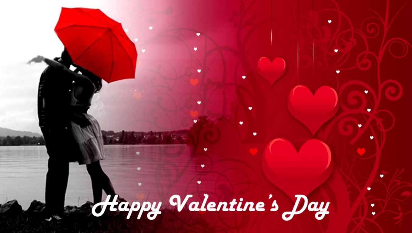 View Original Size - Romantic Valentines Day Couple , HD Wallpaper & Backgrounds