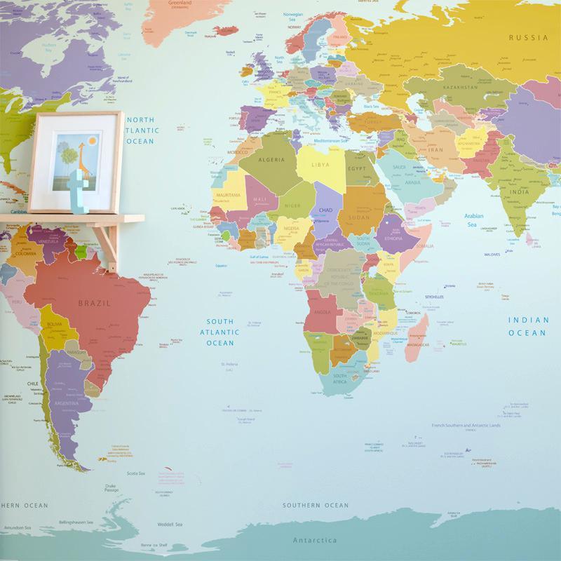 Wallpaper - World Map High Quality (#414395) - HD Wallpaper ...