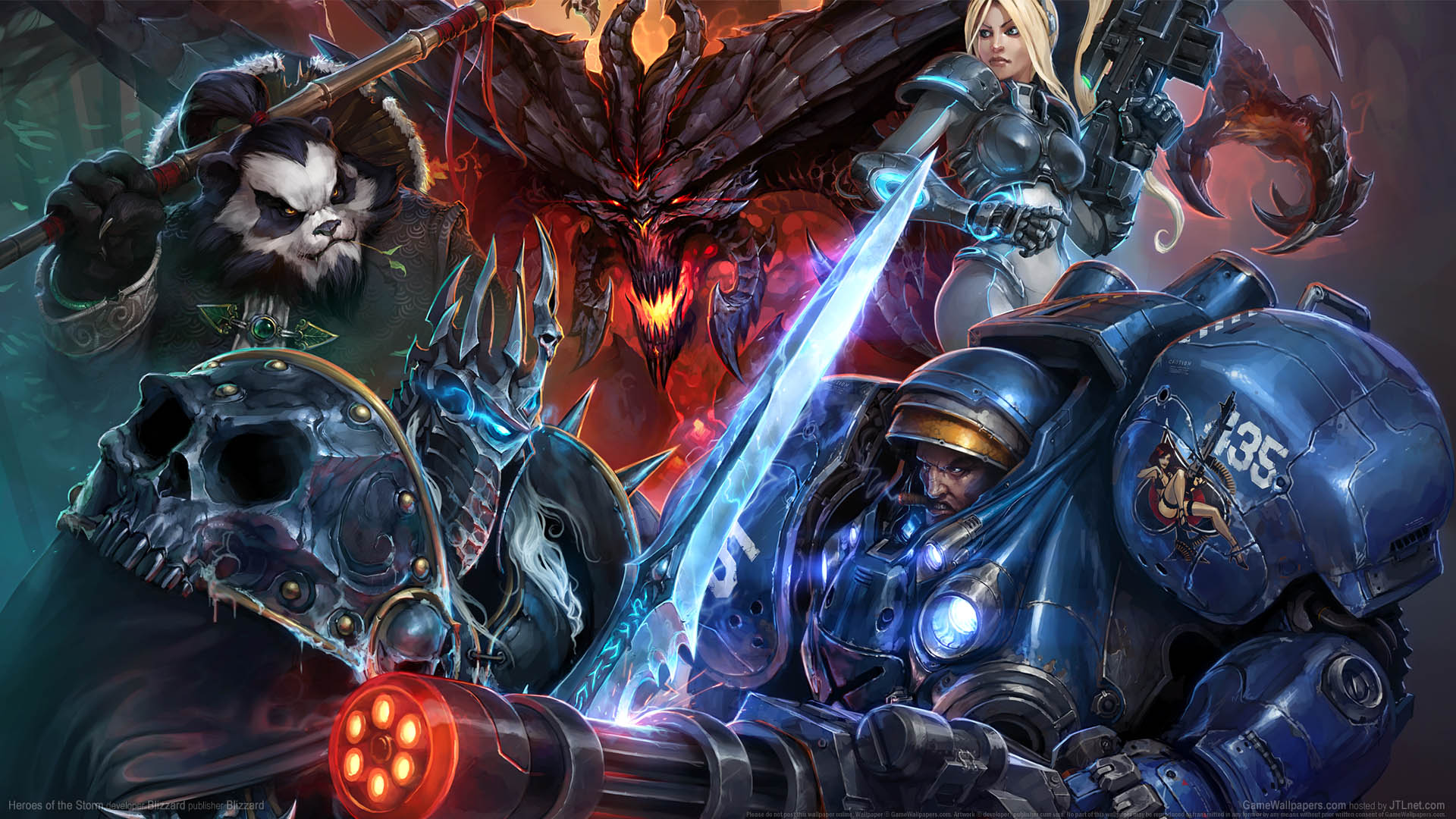 Heroes Of The Storm Wallpaper Or Background Heroes Of The Storm