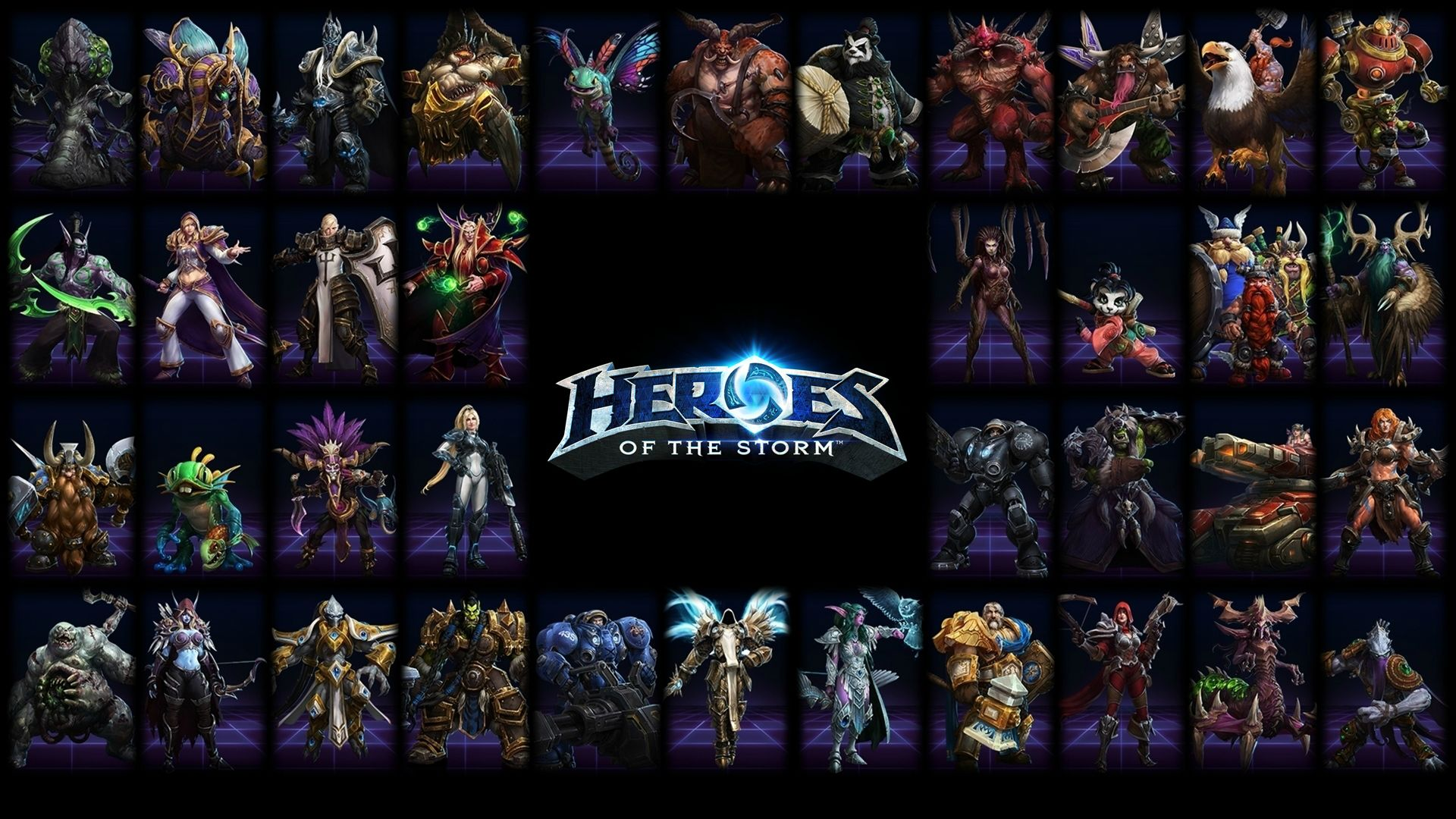 Heroes Of The Storm Wallpaper Heroes Of The Storm Wallpaper All
