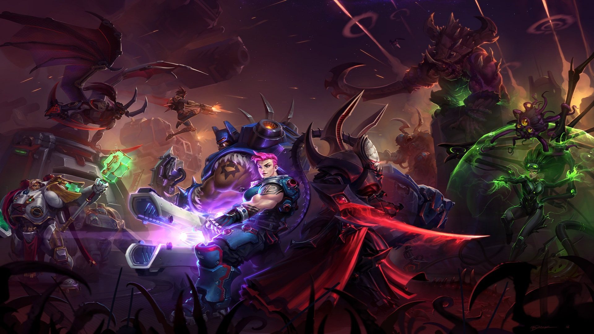 Heroes Of The Storm Xbox Wallpaper Heroes Of The Storm Brawl