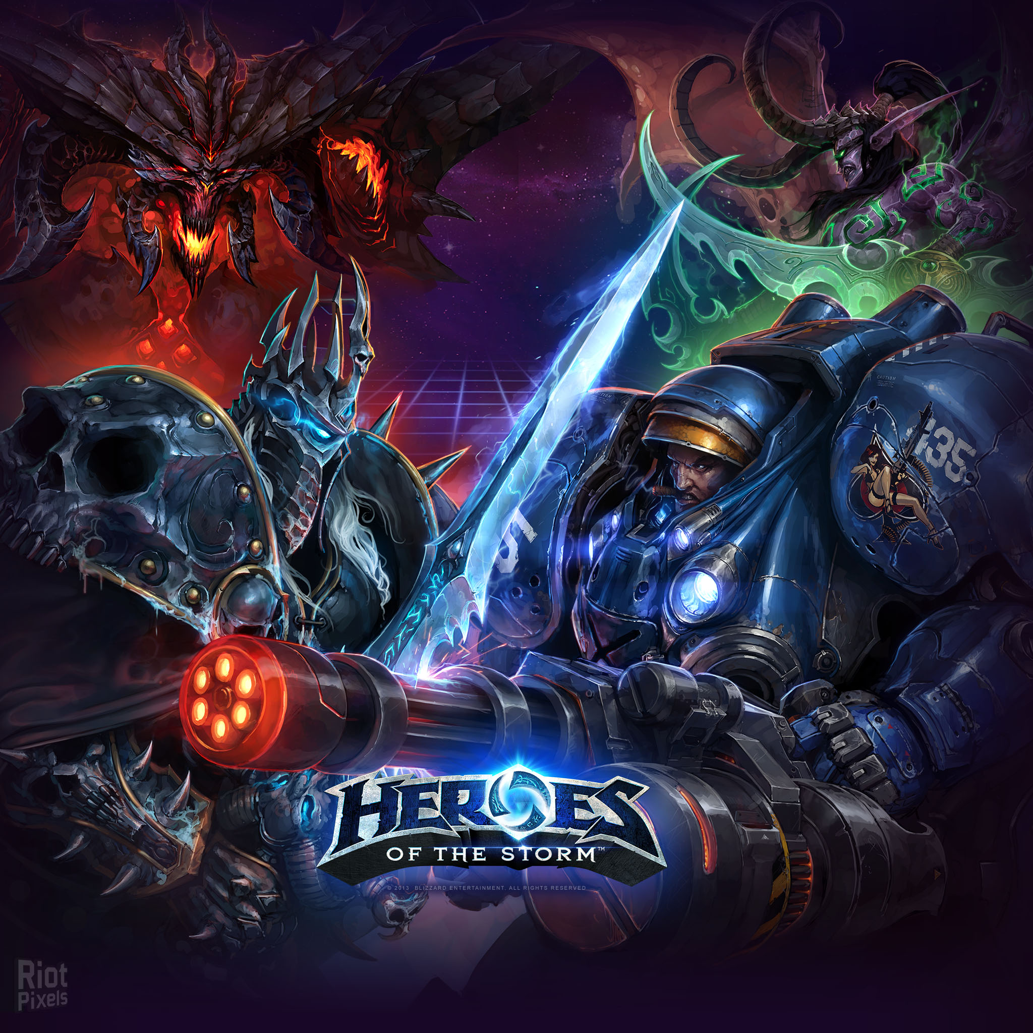 Download Heroes Of The Storm 414838 Hd Wallpaper