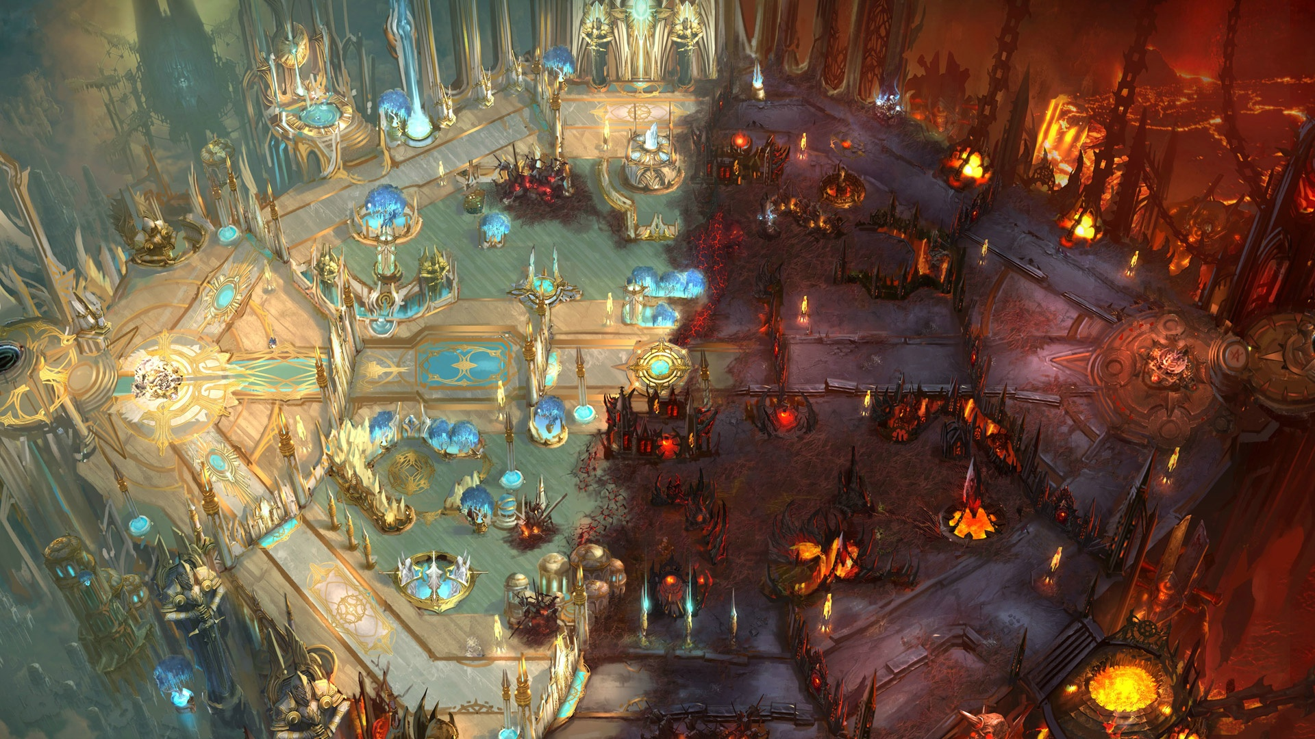 Heroes Of The Storm Hd Wallpaper Gallery Map Heroes Of The Storm