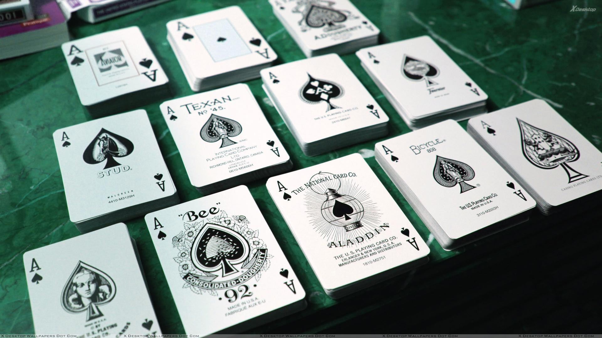 You Are Viewing Wallpaper Titled Playing Cards Ace Of