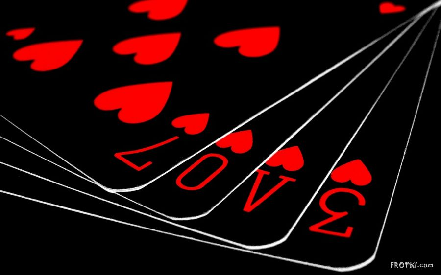 Playing Playing Cards Wallpaper Love 417029 Hd