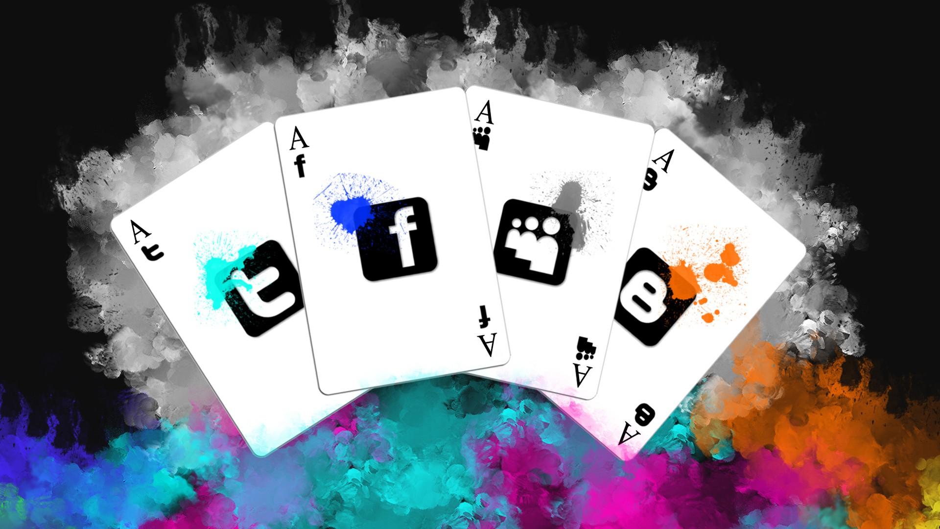 Poker Cards Wallpaper Cool Social Media Backgrounds
