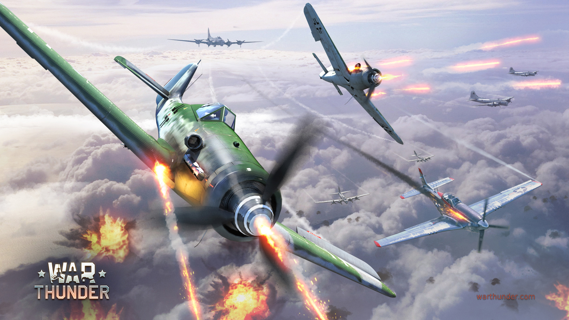 Wallpaper War Thunder Fw190 419075 Hd Wallpaper