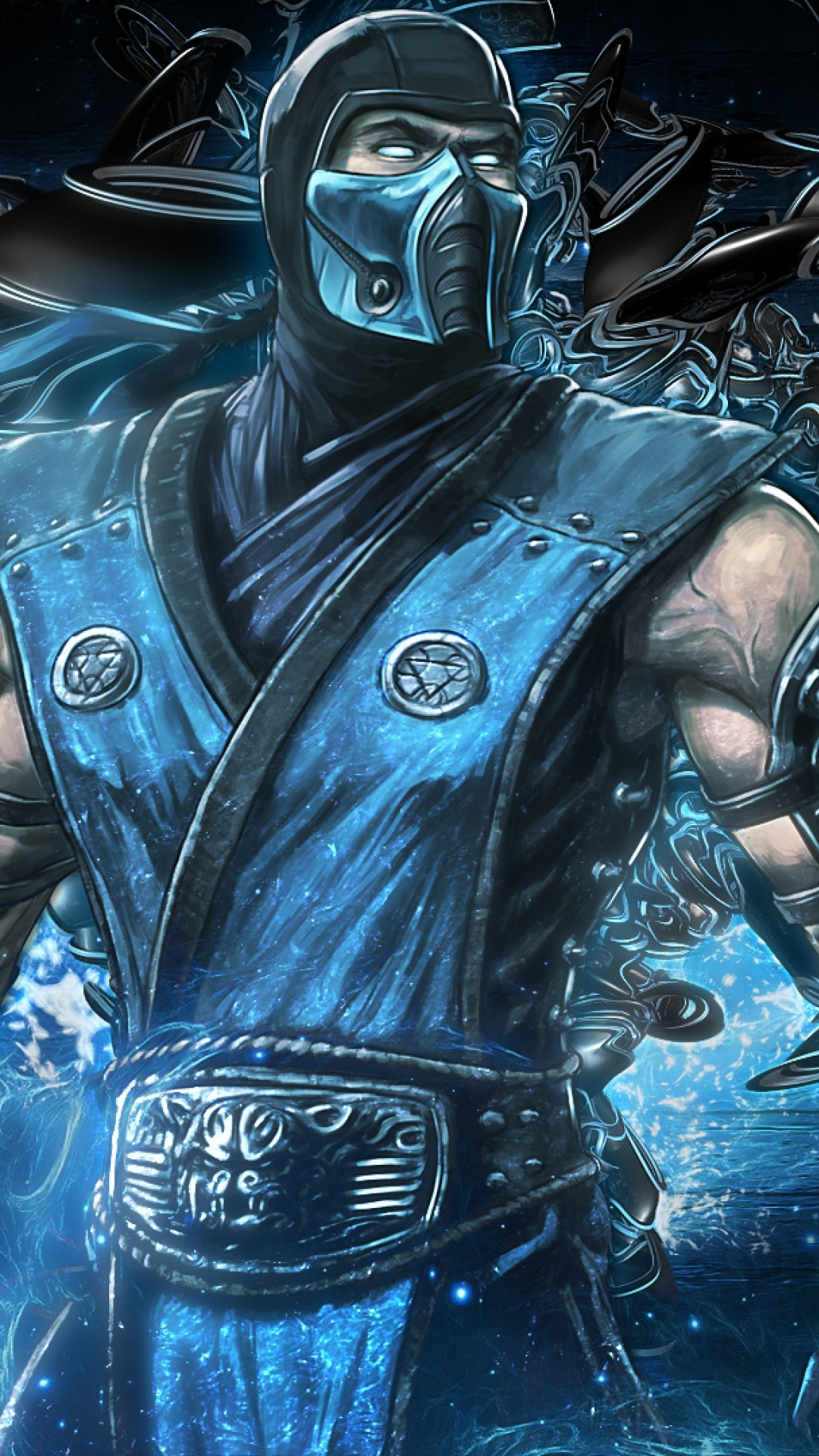 10801920 Mortal Kombat Sub Zero Art Equipment Wallpaper