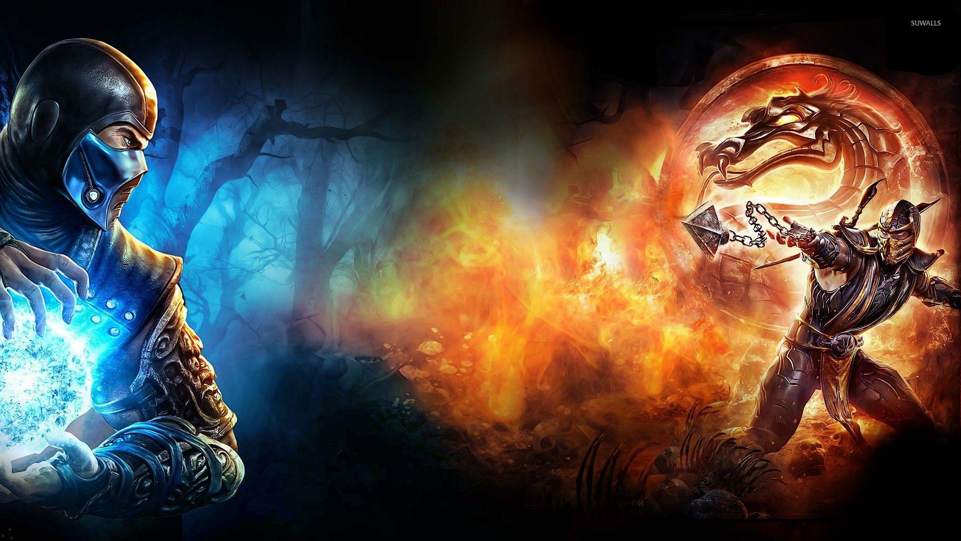 Sub Zero Vs Scorpion In Mortal Kombat X Wallpaper Mortal Kombat