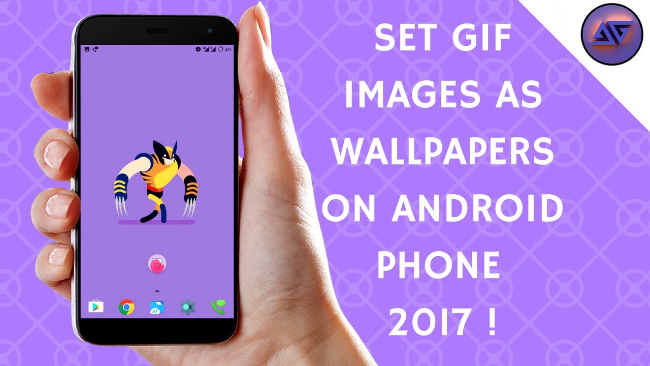 How To Set Gif Images As Wallpaper On All Android Devices - Iphone , HD Wallpaper & Backgrounds