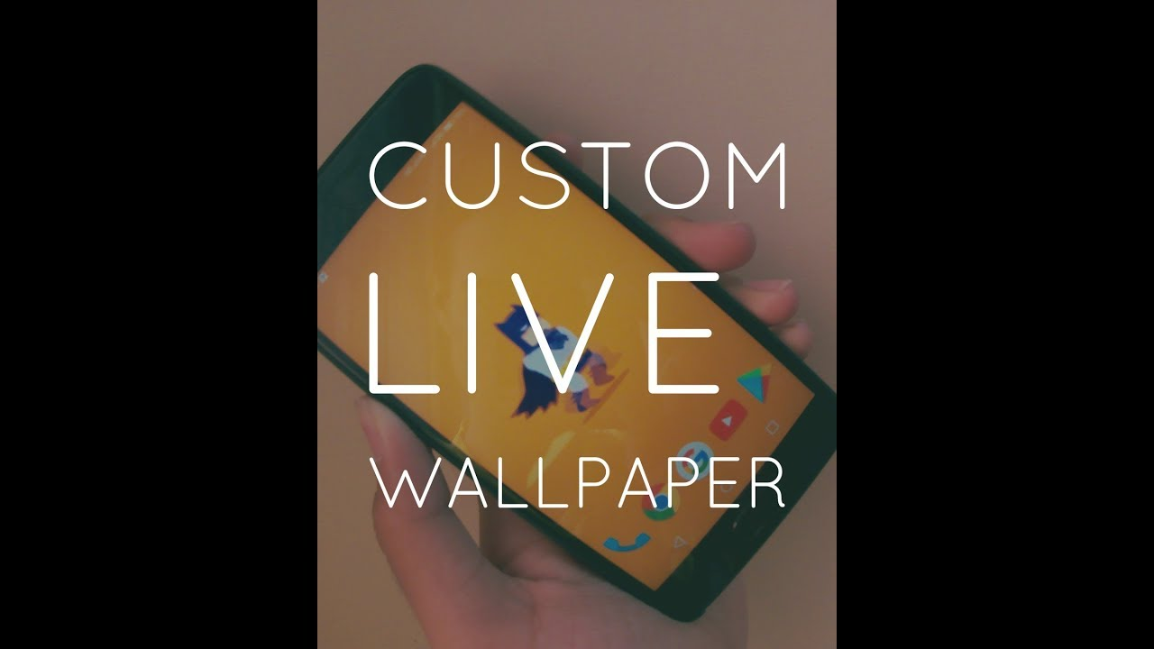 How To Set Gif As Wallpaper Android Graphic Design