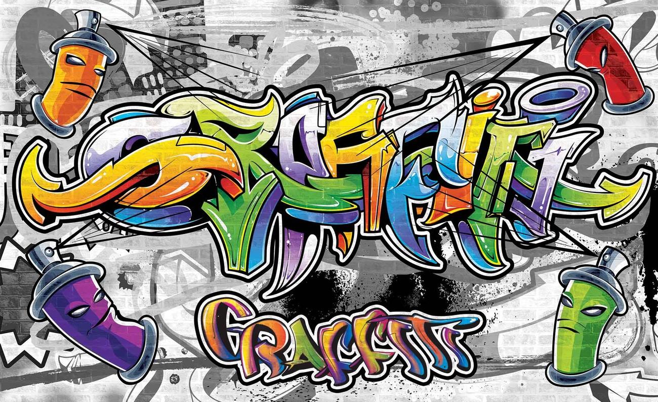 5 - Cool Graffiti Wall , HD Wallpaper & Backgrounds