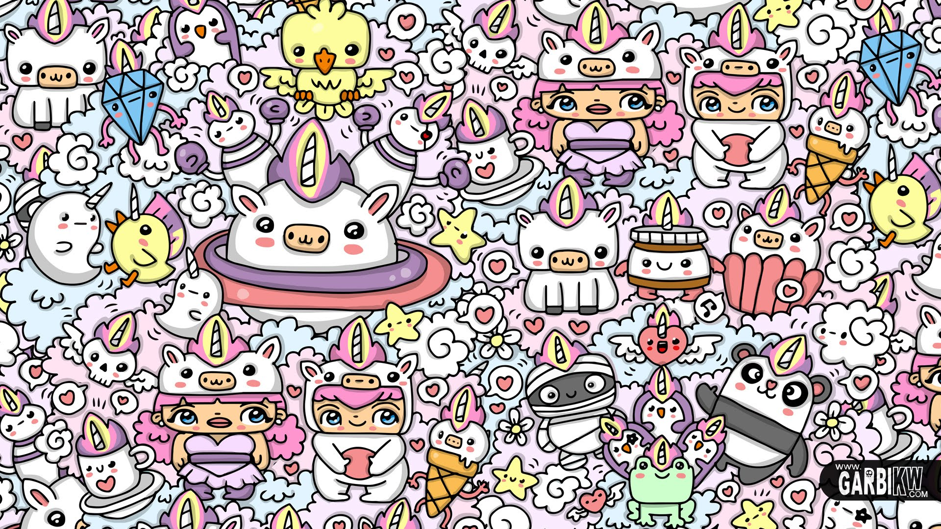 42 423085 kawaii unicorn world kawaii graffiti and cute doodles