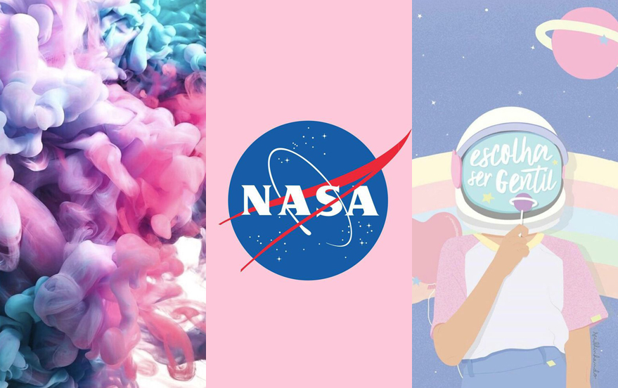 Wallpaper Tumblr Girl Universo E Texturas Aesthetic