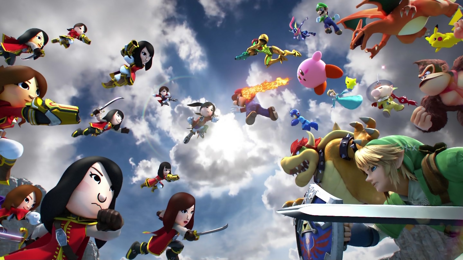 Super Smash Bros Wallpapers Smash Bros Kingdom Hearts 424465