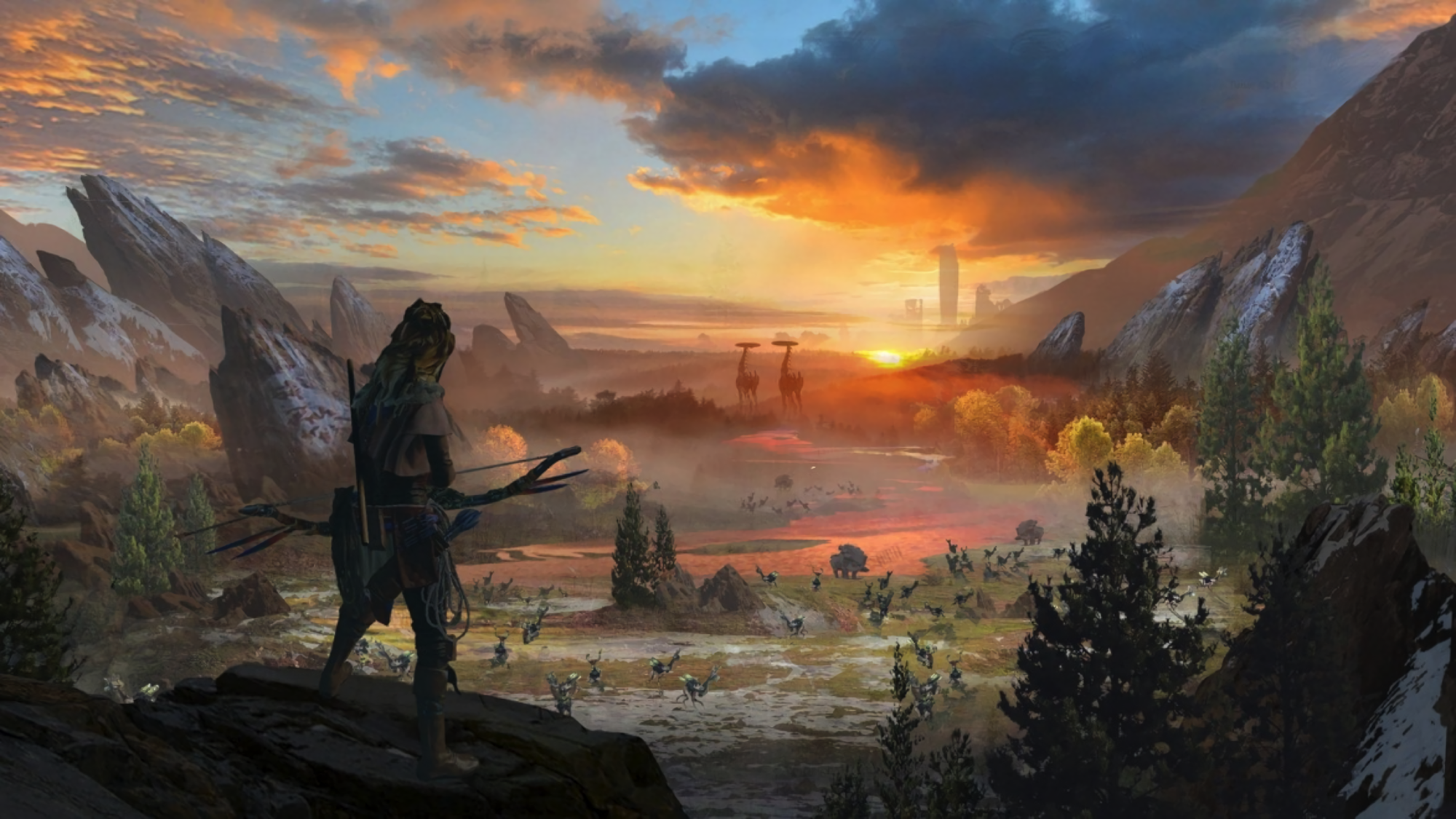Hd Wallpaper - Horizon Zero Dawn Facebook Cover , HD Wallpaper & Backgrounds