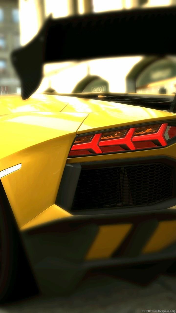 Fullscreen - Lamborghini Aventador Yellow Wallpaper Hd , HD Wallpaper & Backgrounds