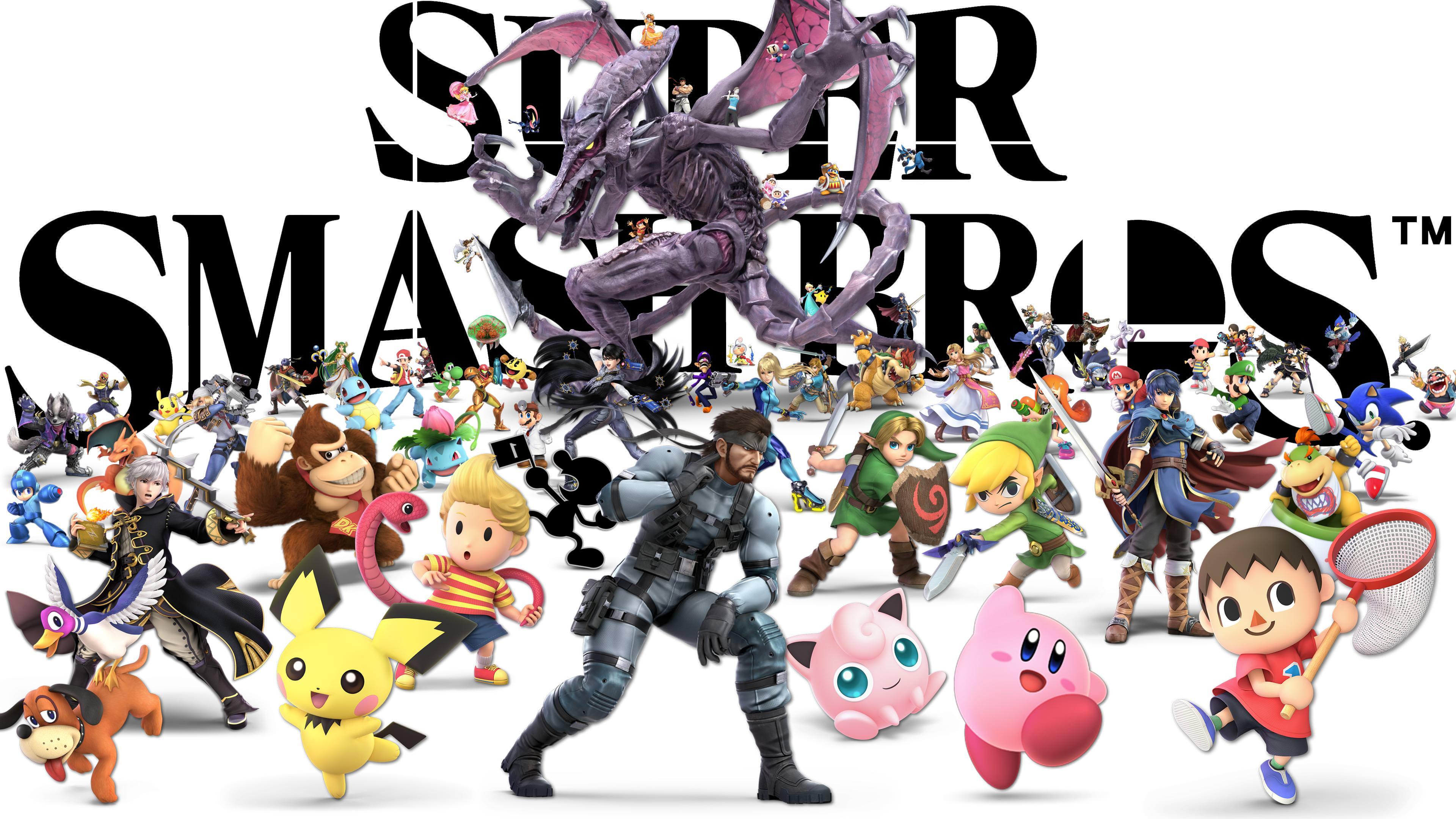 Ultimatei Created A Super Smash Bros Ultimate Wallpaper Smash