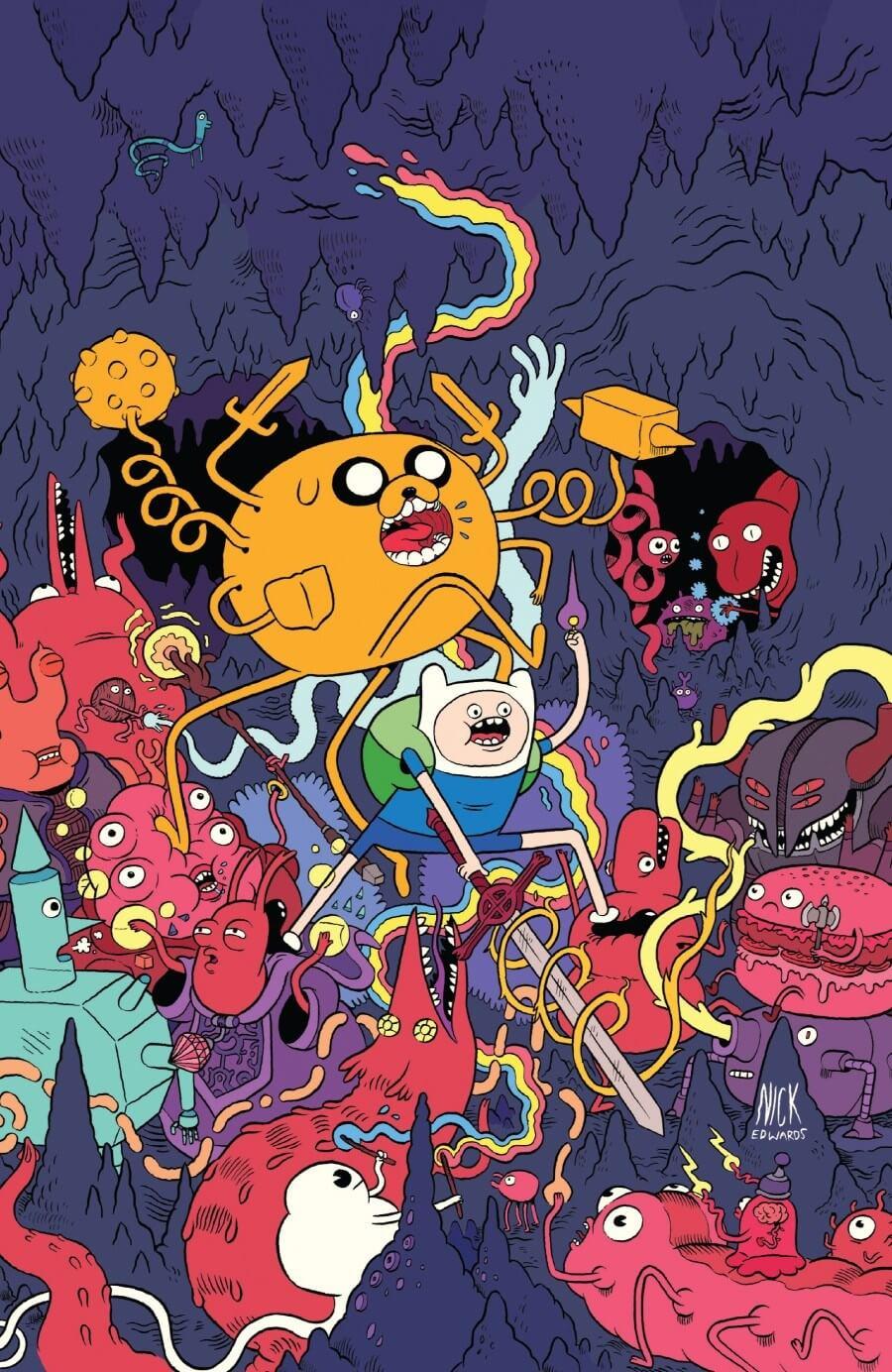 Adventure Wallpaper - Adventure Time Cover Art , HD Wallpaper & Backgrounds
