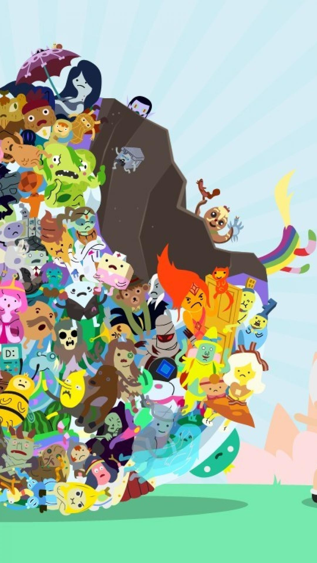 Adventure Time Wallpaper - Adventure Time Wallpaper Handy , HD Wallpaper & Backgrounds