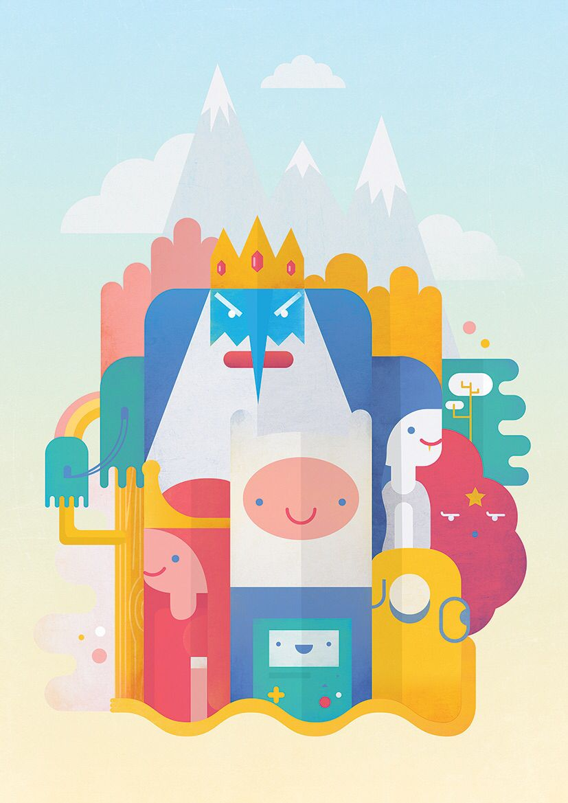 Adventure Time Wallpaper Iphone - Adventure Time , HD Wallpaper & Backgrounds
