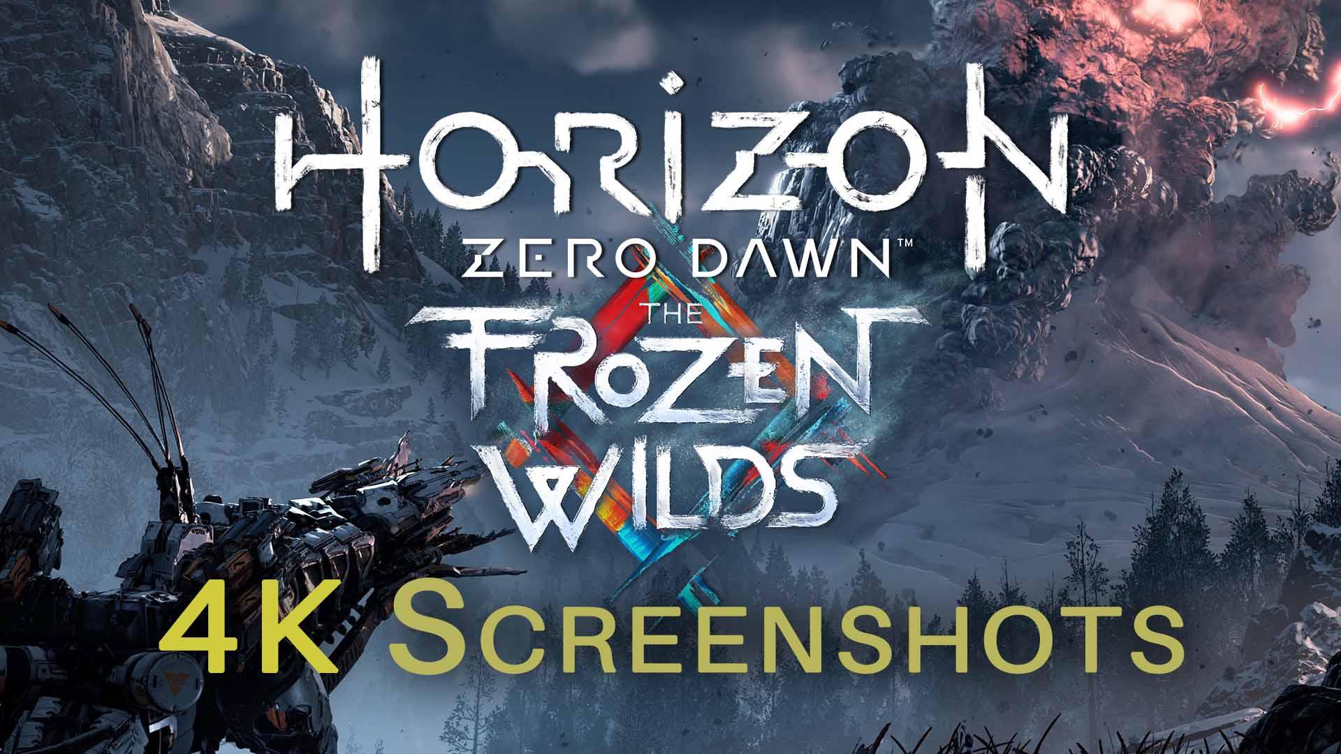 Horizon Zero Dawn The Frozen Wilds Ps4 , HD Wallpaper & Backgrounds