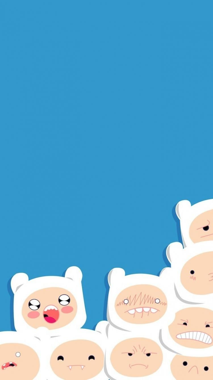 Adventure Time Wallpapers Iphone 6 Plus - Adventure Time Background Cute , HD Wallpaper & Backgrounds