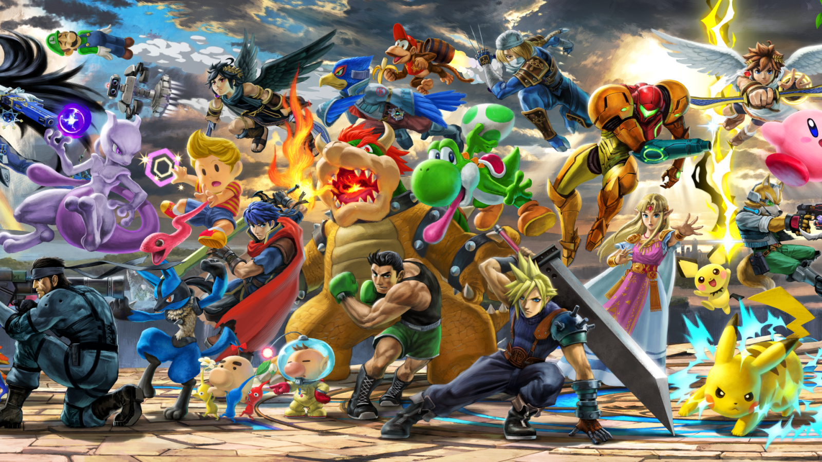Super Smash Bros Ultimate Wallpapers Smash Bros Ultimate Cast
