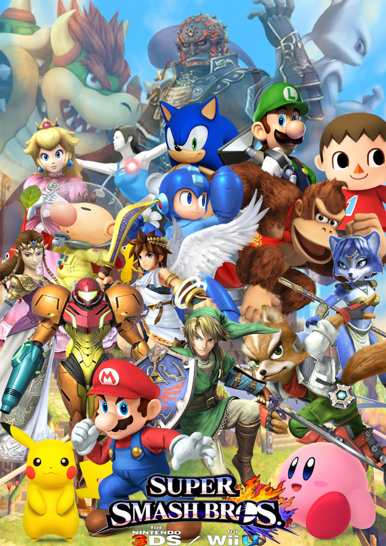 Suited Top On A Super Smash Bros Wii U Wallpaper Iphone 426390