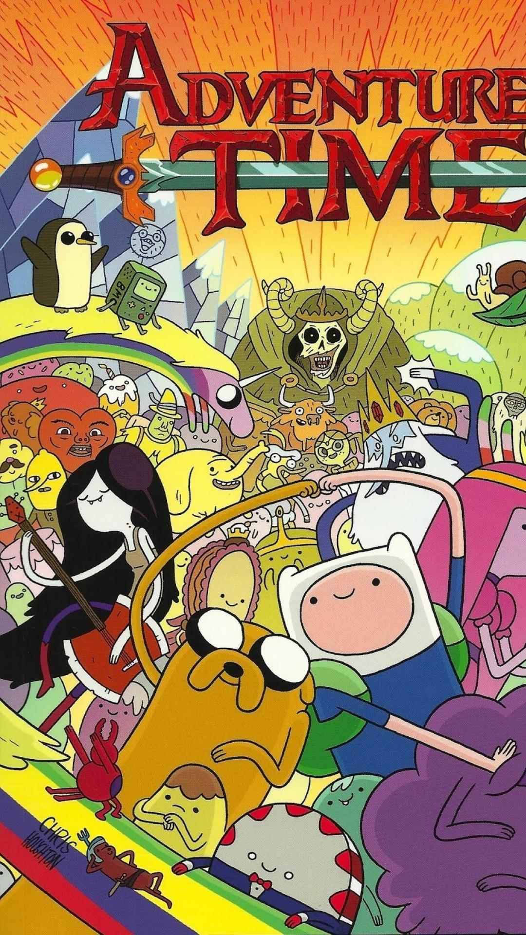 Adventure Time Wallpaper Iphone , HD Wallpaper & Backgrounds