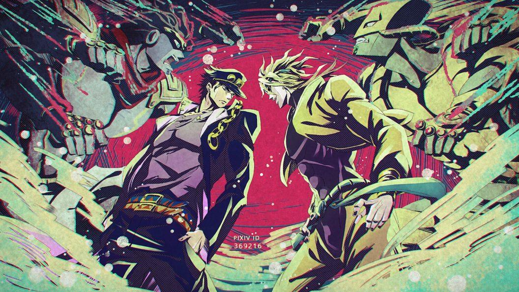 Jotaro Vs Dio Jojos Bizarre Adventure 427045 Hd