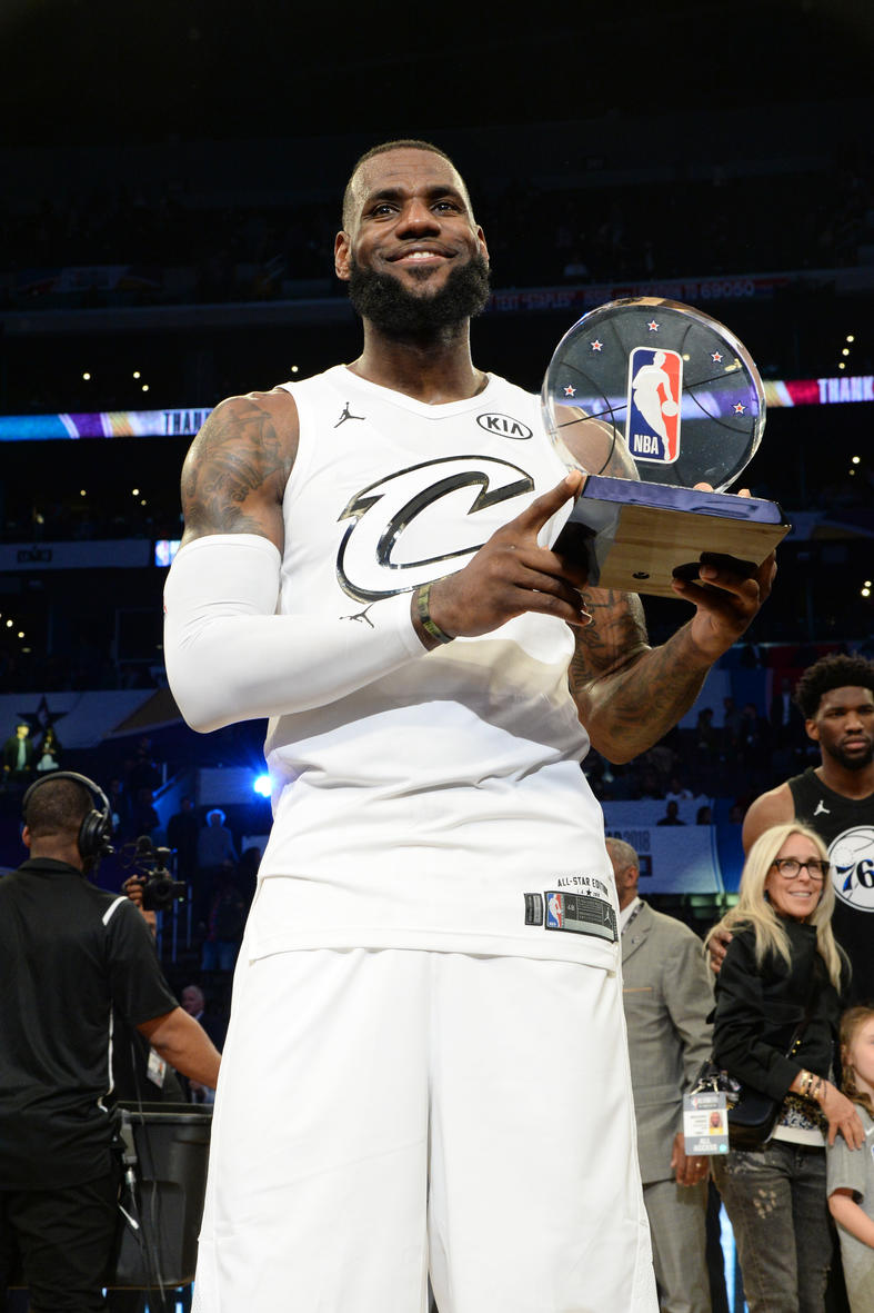 Los Angeles, Ca - Lebron James All Star Game 2018 , HD Wallpaper & Backgrounds