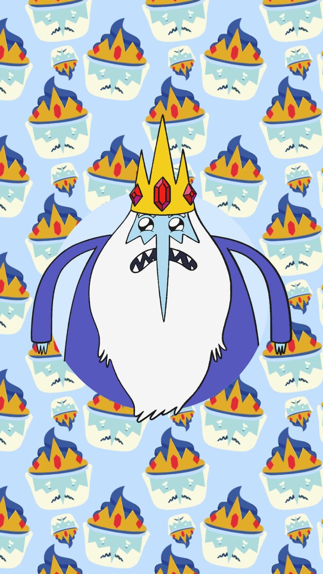 Ice King - Wallpaper - Sathitprasomsup - Com - Adventure Time Wallpaper Cupcake , HD Wallpaper & Backgrounds
