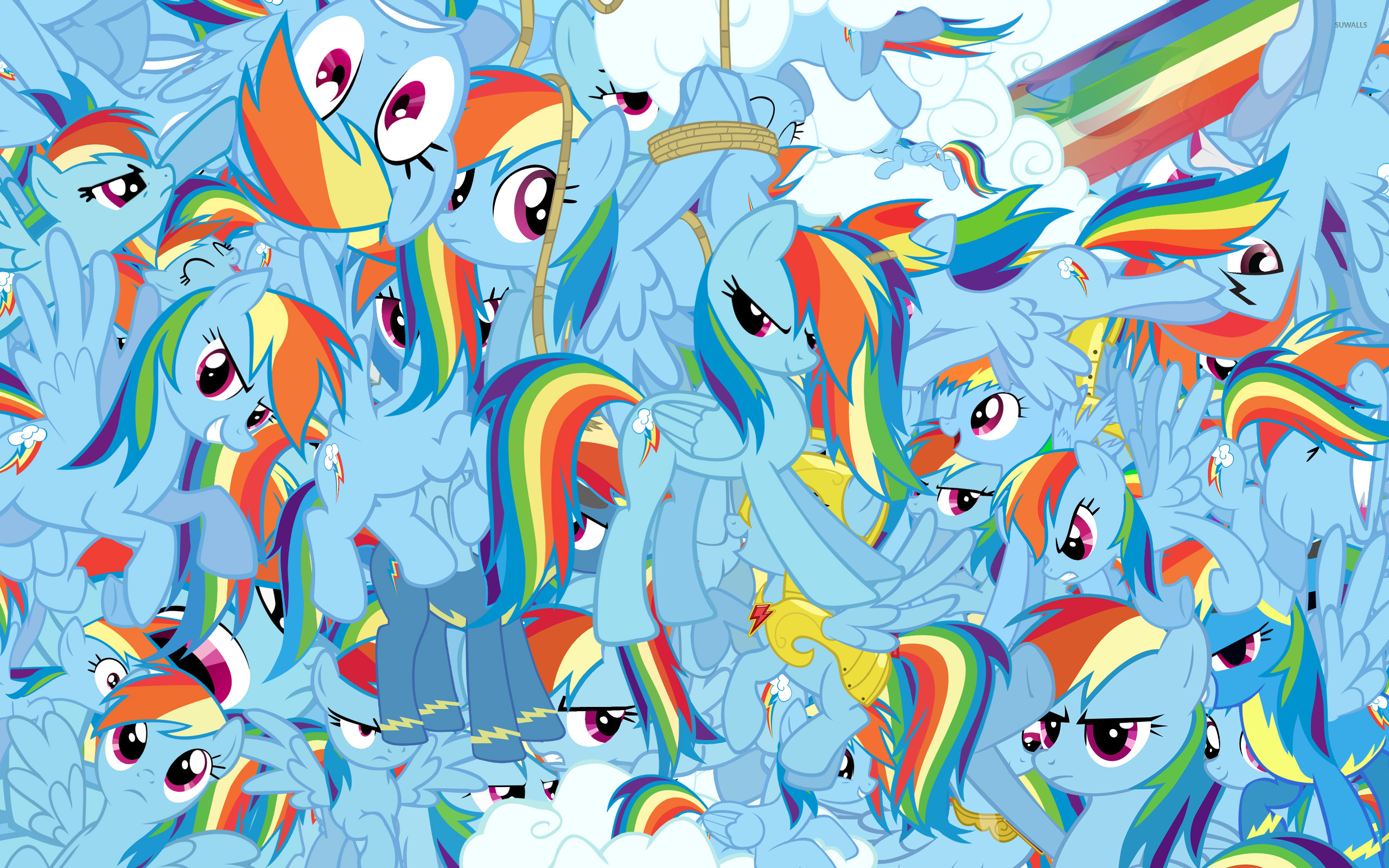 Rainbow Dash 3 Wallpaper My Little Pony Friendship Is Magic
