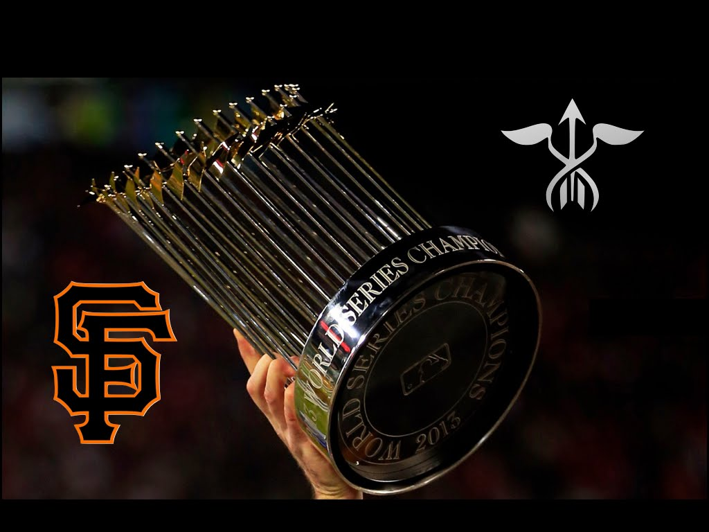 San Francisco Giants Wallpaper Hd Commissioner S Trophy Mlb