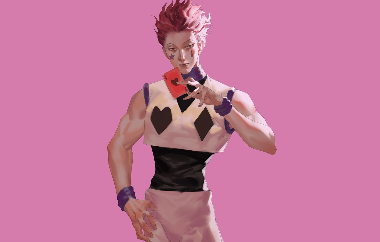Photo Wallpaper Look Guy Hunter X Hunter Hisoka Hisoka