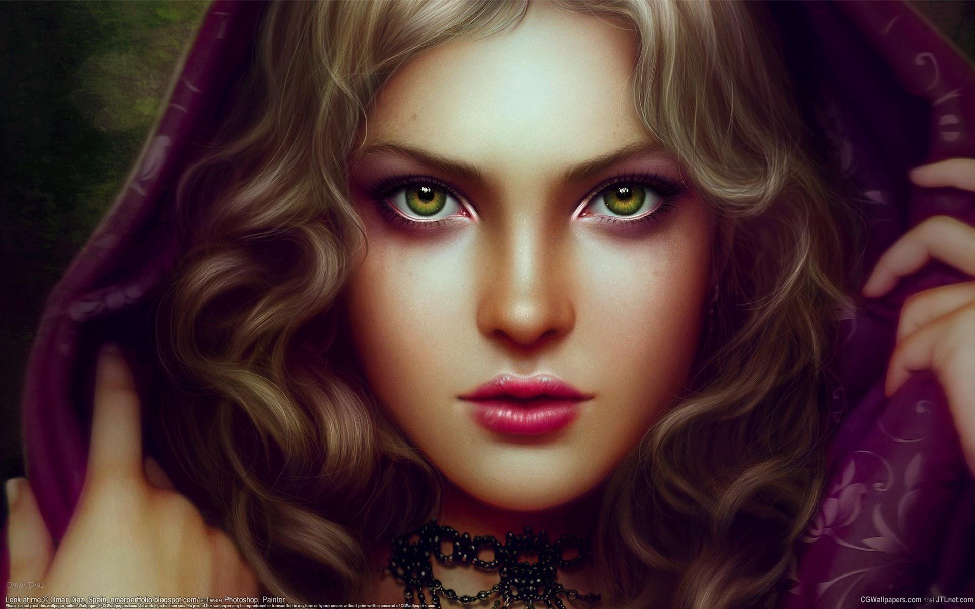 Download This Wallpaper - Beautiful Women In Fantasy Art , HD Wallpaper & Backgrounds