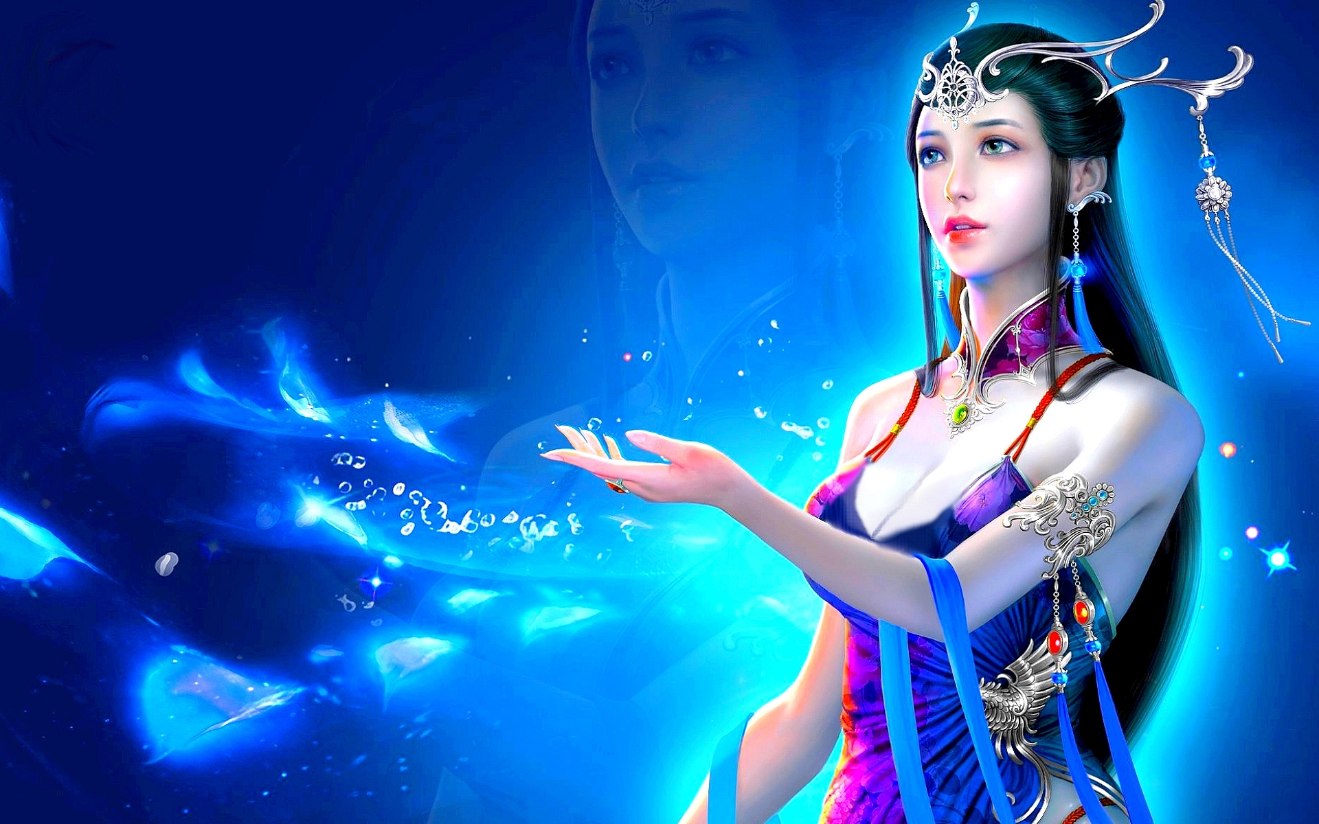 43 433165 3d desktop wallpaper fantasy girl fantasy girl full