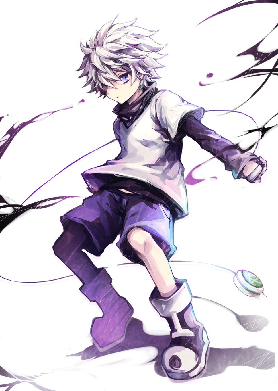 Killua Zoldyck Hunter X Hunter Killua Art 433658 Hd