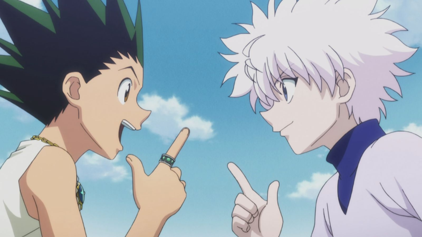 Gon And Killua Wallpaper Hunter X Hunter Gon And Killua 433989