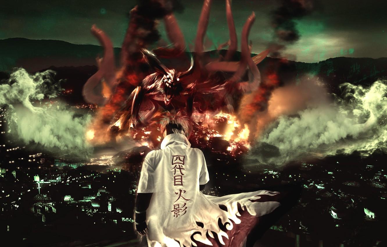 Photo Wallpaper Naruto Anime Ninja Manga Hokage Sidekick