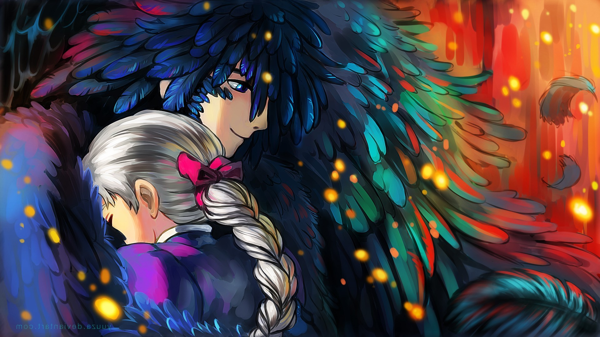 Studio Ghibli Howls Moving Castle Anime Wallpaper And Howls
