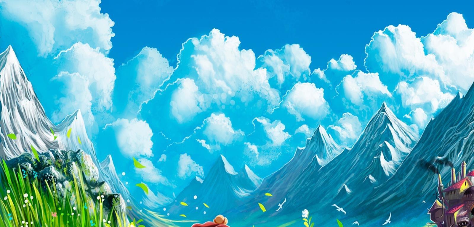 Howls Moving Castle Twitter Header 435267 Hd Wallpaper Backgrounds Download