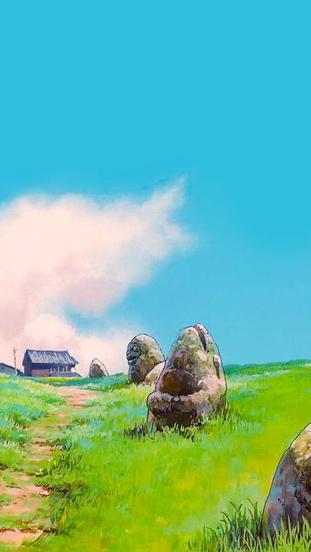 Studio Ghibli Phone Wallpaper Studio Ghibli Landscape 435430 Hd Wallpaper Backgrounds Download