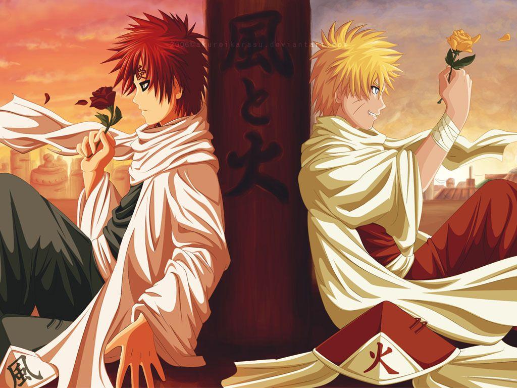 Naruto And Gaara Kage 436530 Hd Wallpaper Backgrounds Download