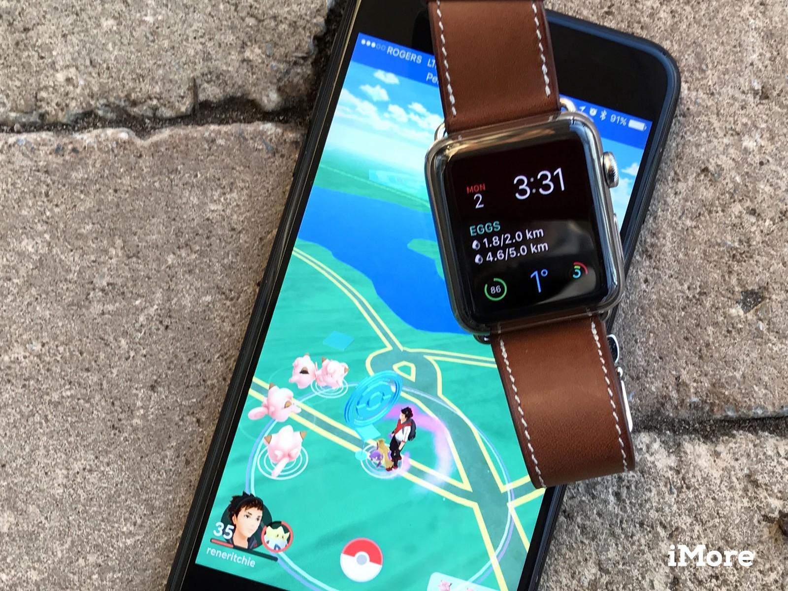 Best Apple Watch Wallpaper - Pokemon Go Watch Face , HD Wallpaper & Backgrounds