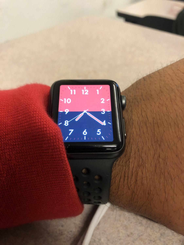 Custom Apple Watch Face Using Xcode - Analog Watch , HD Wallpaper & Backgrounds