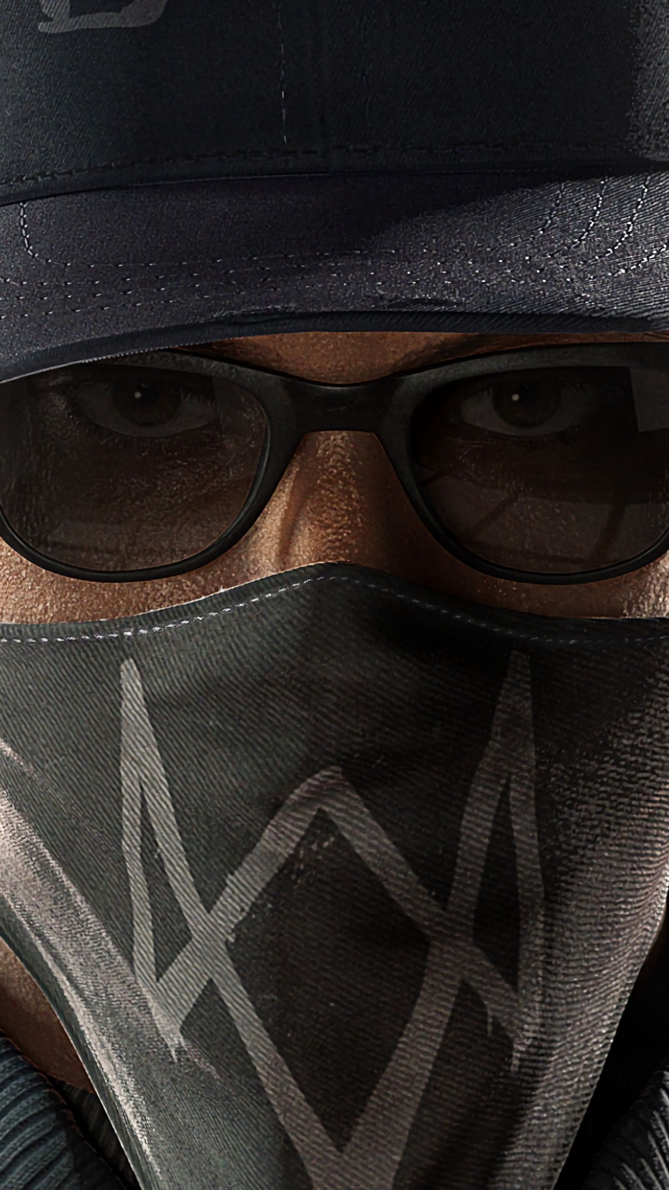 Wallpaper Watch Dogs 2, Marcus Holloway, Face - Watch Dogs 2 Mask , HD Wallpaper & Backgrounds